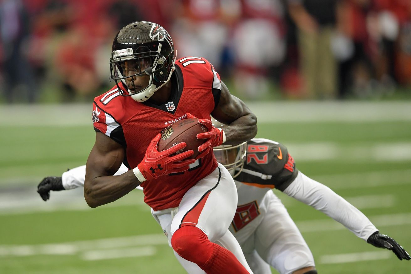Post Game Injury Report Julio Jones Ankle Injury Injury Report