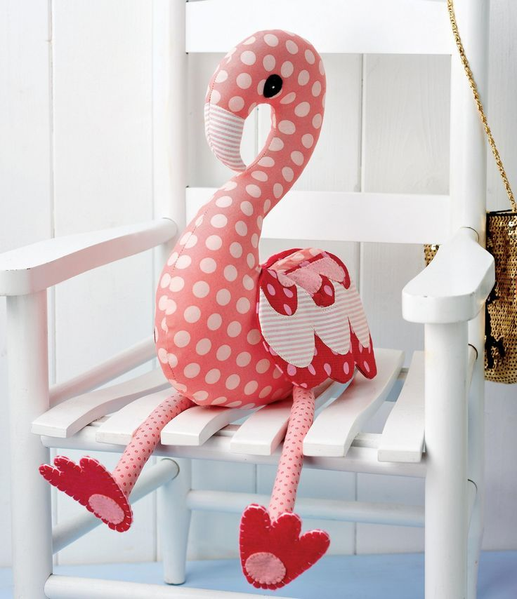 Flossie flamingo Free Pattern | Muñecos | Pinterest | Stuffed animal ...