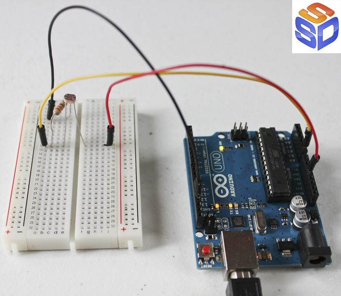 Arduino Projects 11 | Photocells, 3 Easy Ways to use Light.  See the circuit, the code, and 'how to' examples walking step by step through the process of using photocells to control lights, motors, and more.