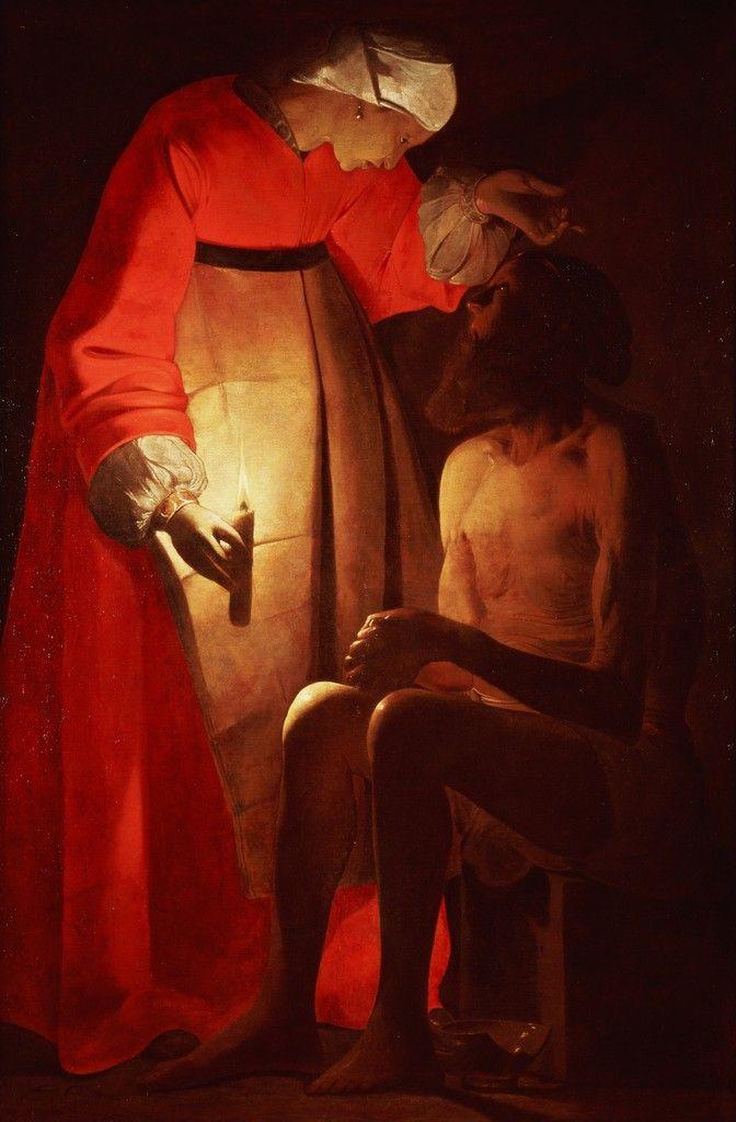 Job Mocked By His Wife Georges De La Tour Musee Des Beaux Arts Art Classique Les Arts