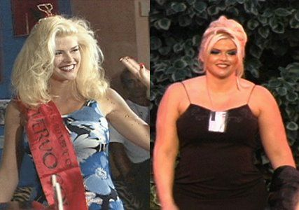 Anna Nicole Smith Fat Sok Pa Google