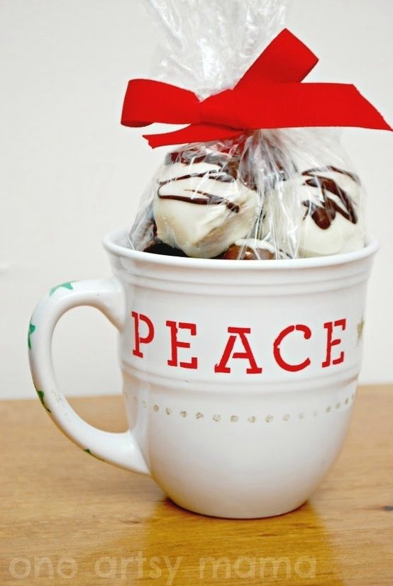 Cute gift idea: maybe make with homemade marshmallows by stacy.durso