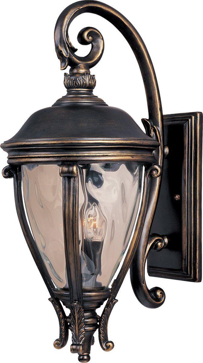Maxim Lighting 41426WGGO Camden VX 3 Light 29 inch Golden Bronze ...