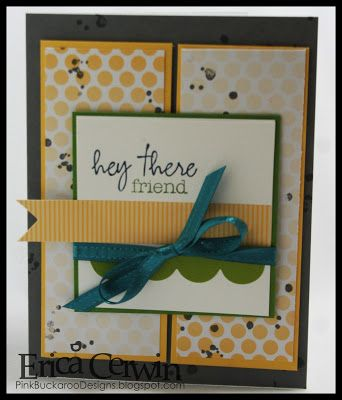 Welcome Kit alternatives Stampin' Up! Paper Pumpkin by Erica C at Pink Buckaroo Designs