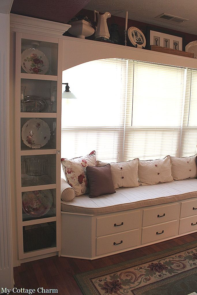 Build Your Own Window Seat Kitchen SeatsDining Room