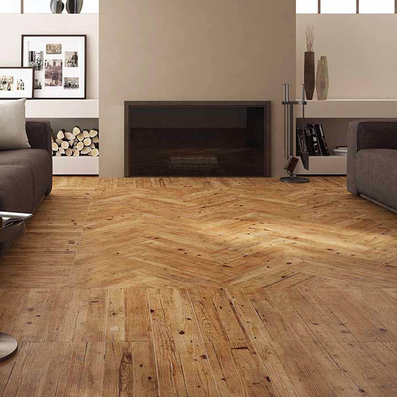 Ambiente American Olmo, piso 18x60, madera mate, uso interior ...