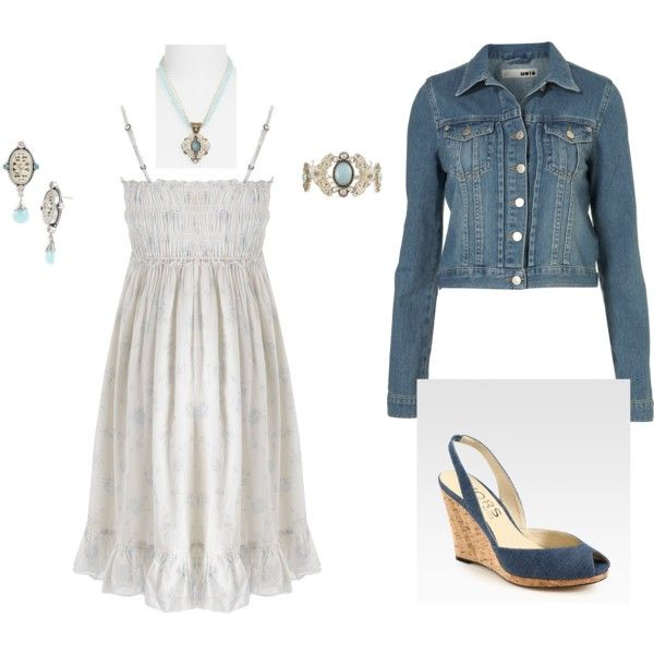 Casual Blue, created by holly-white-hoad.polyvore.com
