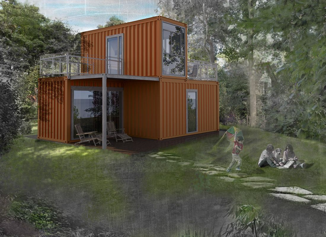 Pin by kerry cale on shipping container home design ideas for Haus container