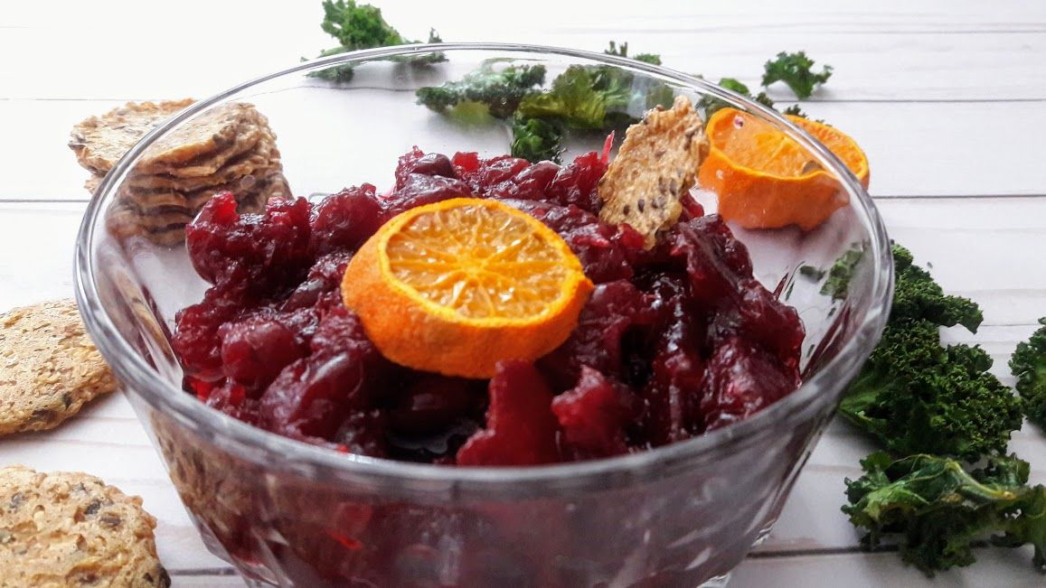 Best Ever Cranberry Sauce Recipe - Profusion Curry #cranberrysauce
