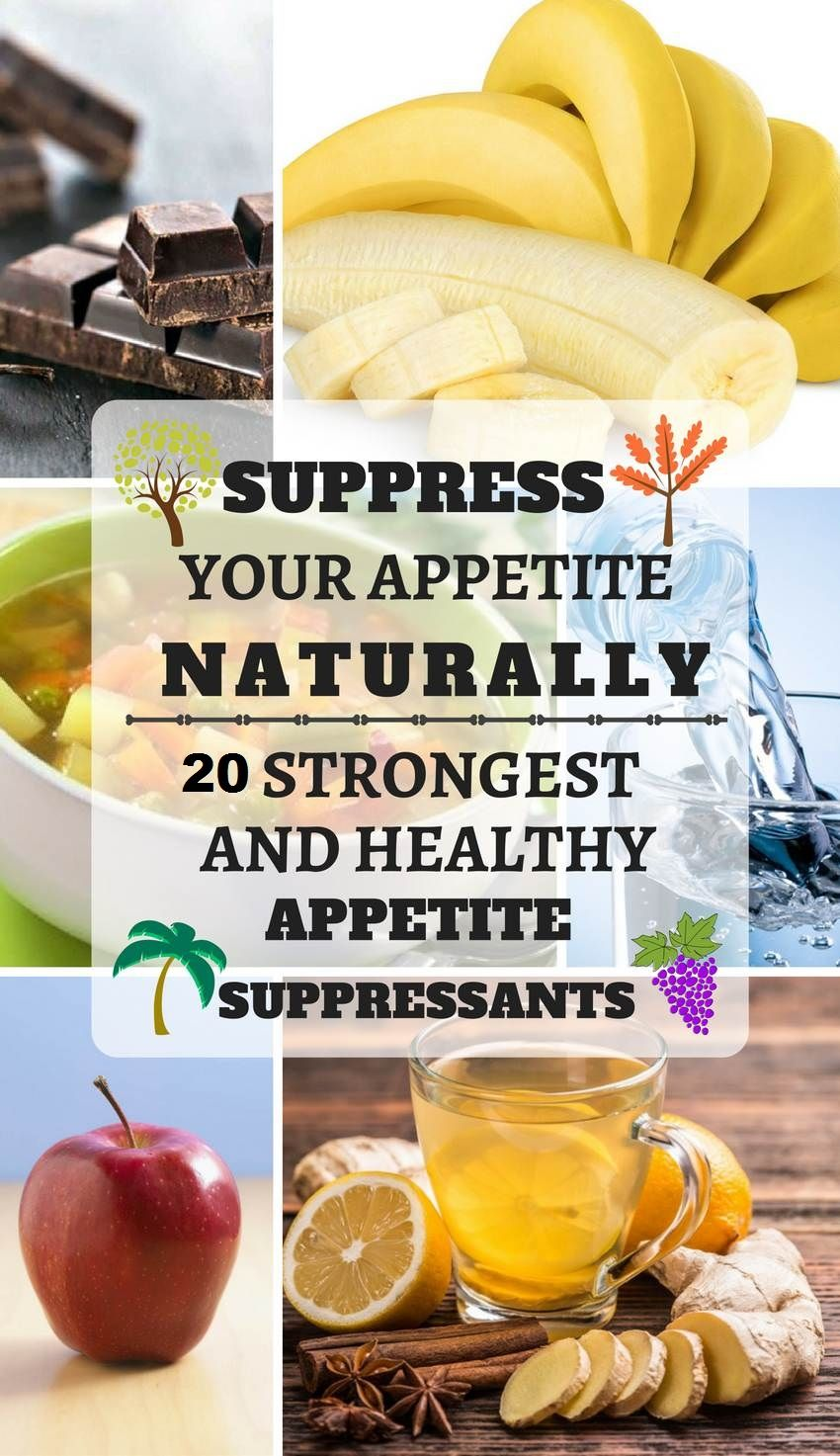 How to repel appetite. Appetite suppressants 69