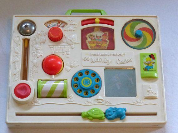 Rare Vintage Fisher Price Crib Toy Vintage Fisher Price