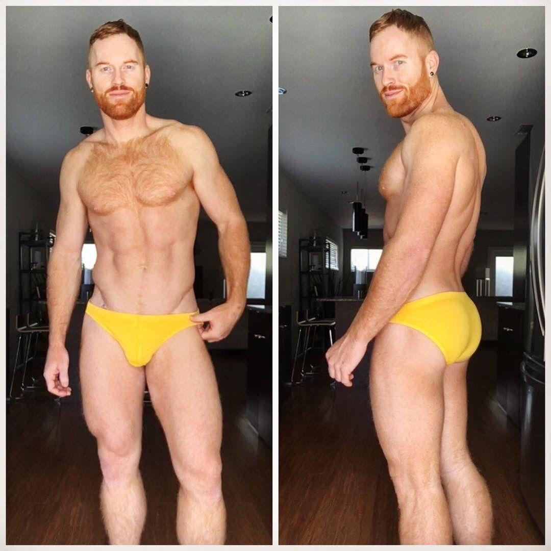 Mature hairy butt