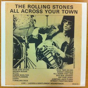 Devil's Disciple Records: The Rolling Stones - 'All Across