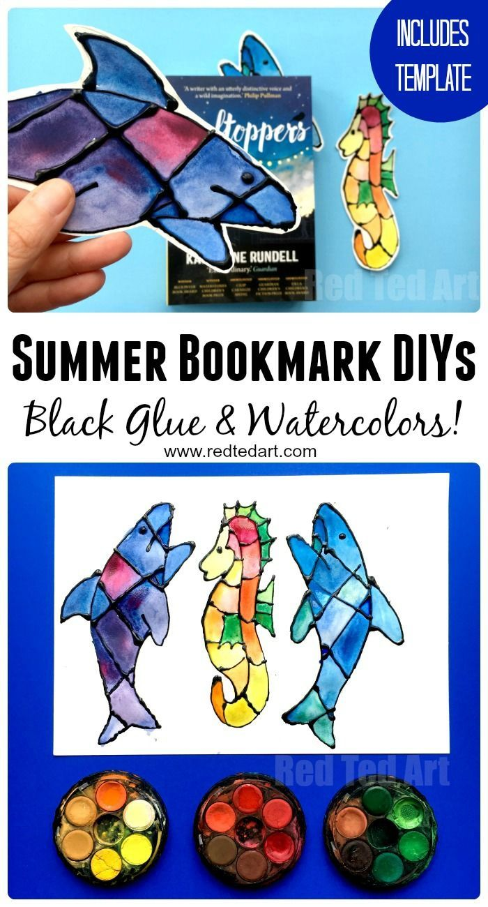 Ocean Bookmark Ideas Shark Seahorse Bookmarks Red Ted Art Make Crafting With Kids Easy Fun Summer Bookmarks Ocean Kids Ocean Crafts [ 1300 x 700 Pixel ]