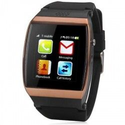 1.55 inch L15 Capacitive Touch Screen Unlocked Phone Watch Phone Quad Band Bluetooth $69.49