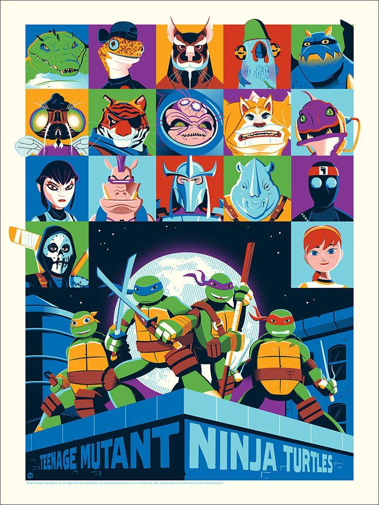 Teenage Mutant Ninja Turtles Posters From Mondo Round 1 Teenage Mutant Ninja Turtles Art Ninja Turtles Artwork Teenage Ninja Turtles