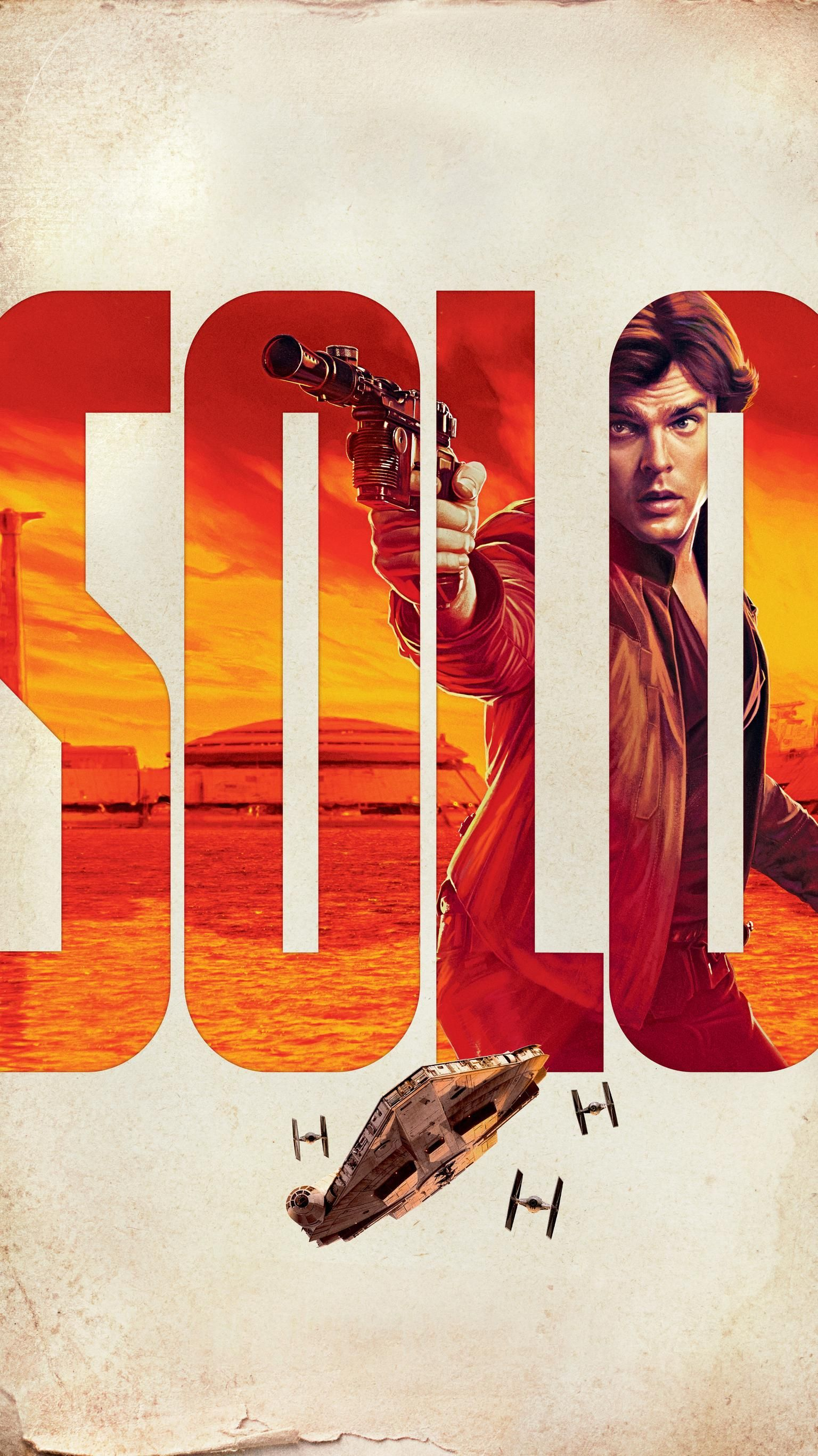 Solo A Star Wars Story 2018 Phone Wallpaper Moviemania Star Wars Han Solo War Stories Star Wars