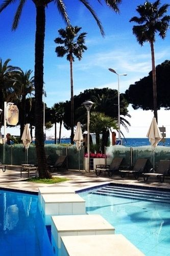 Perfect Pool Day At Grand Hyatt Cannes Hotel Martinez Photo Courtesy Of On Tumblr