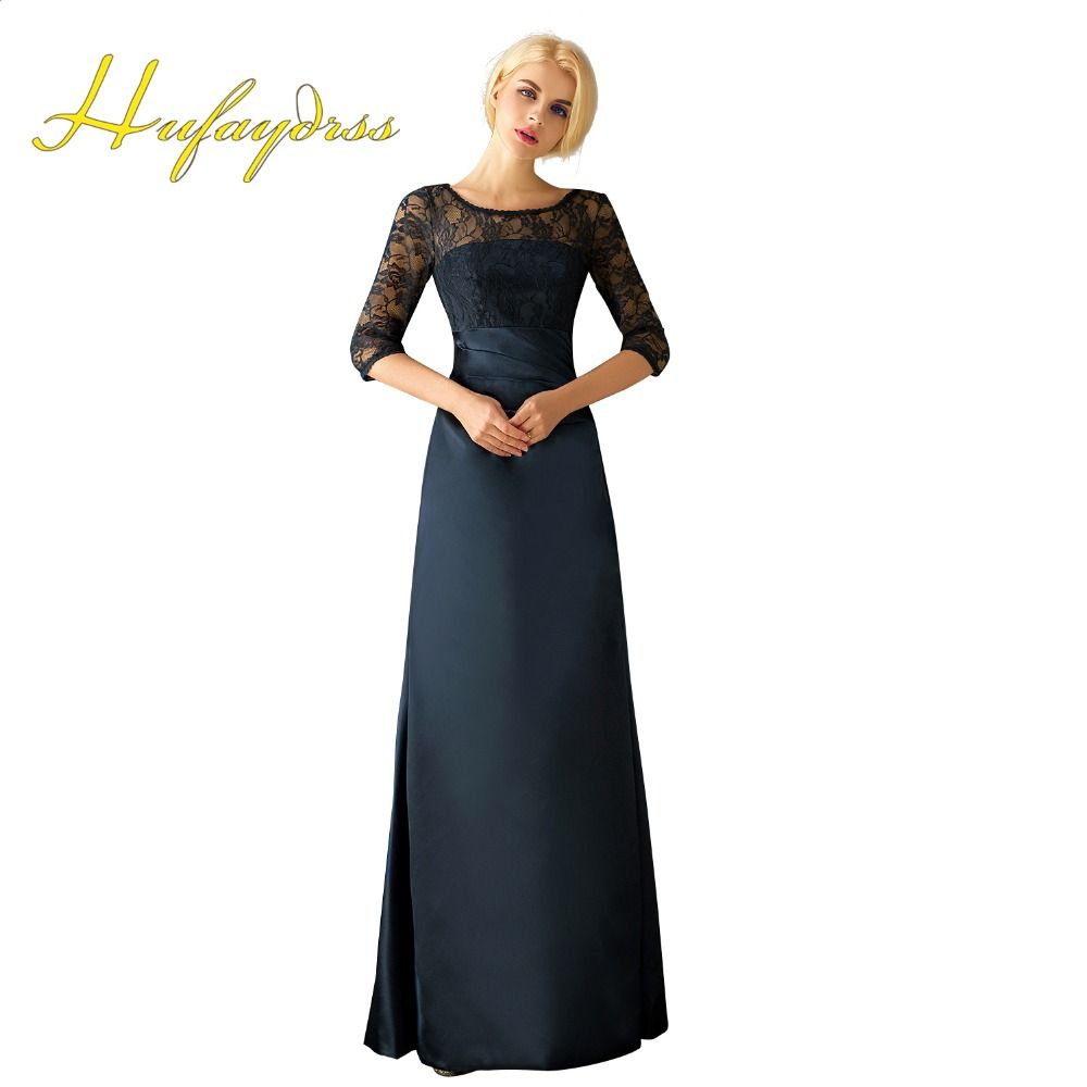 Click to buy ucuc navy mother of the bride dress lace mermaid
