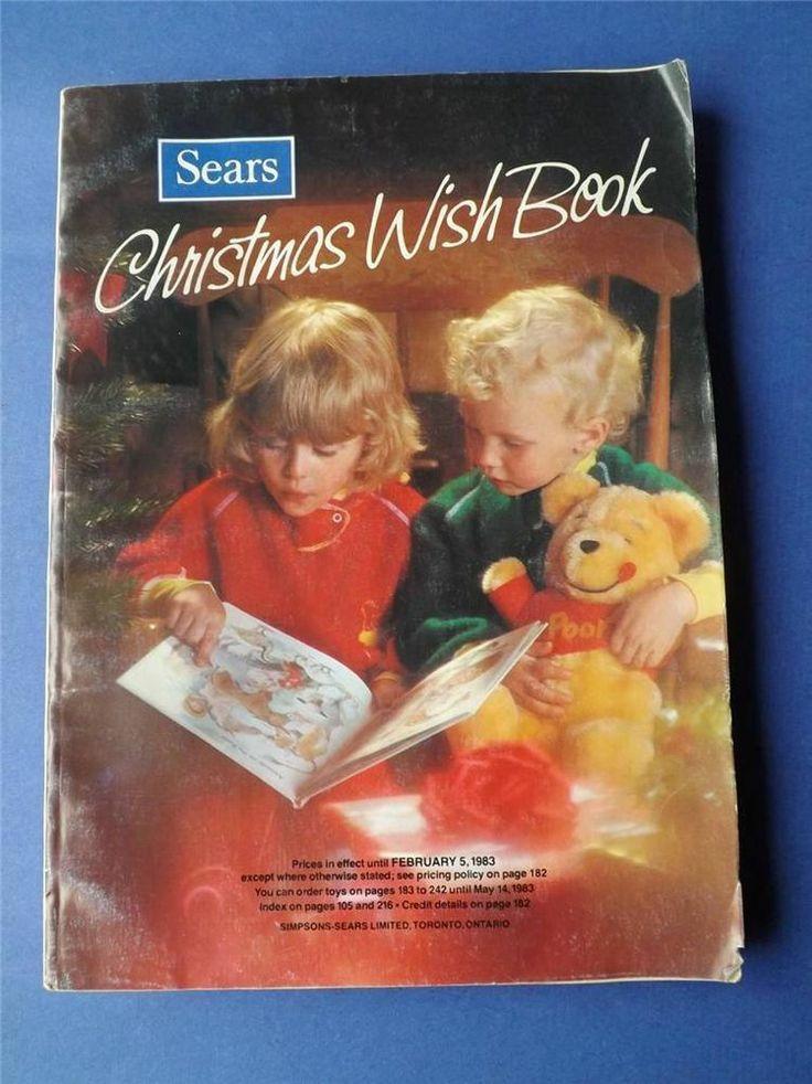 1983 sears holiday wishbook SEARS CANADA VINTAGE