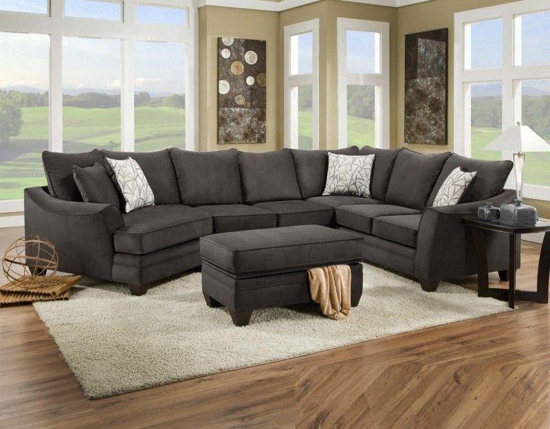 Charcoal Gray Sectional Sofa Foter Grey Sectional Sofa