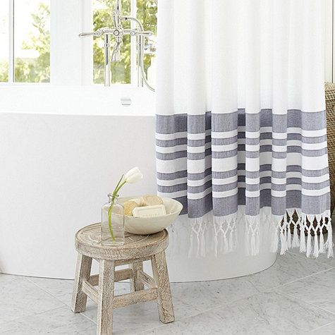 Bee Stand In 2020 Curtains Striped Shower Curtains Bathroom