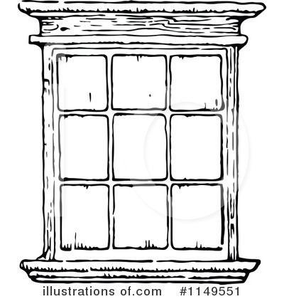 Window Clipart 1149551 Illustration By Prawny Vintage Window Illustration Window Clipart White Windows