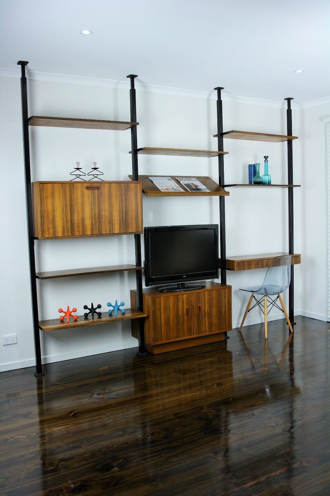 Mid Century Room Divider Wall Unit Desk System Retro Vintage Sideboard Ladderax Herman Miller Css Style Vic Ebay 360 Modern Furniture
