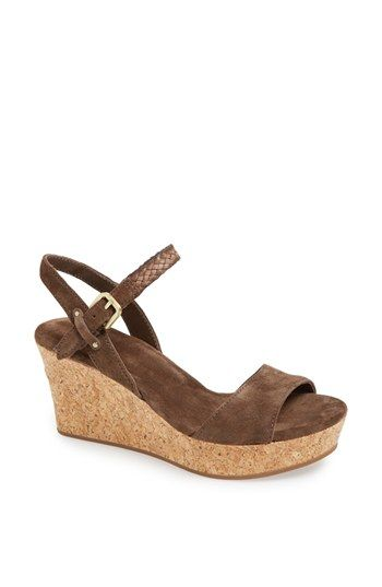 3bf960df3b34 Wedges for Women. UGG® Australia  D Alessio  Sandal available at  Nordstrom