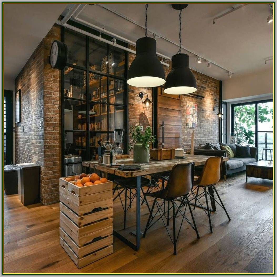 Enhance Your Surroundings With These Living Room Interior Design Ideas Modern Interior Design Industrial Interior Design Industrial Style Interior Industrial Chic Decor