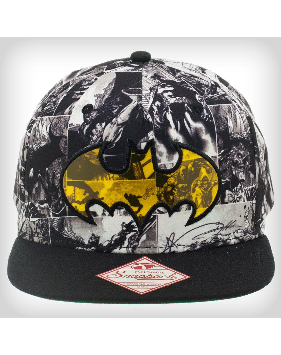 2d581f45f8 Batman Comic Slideback Hat | TALL, DARK, AND BATMAN....and others ...
