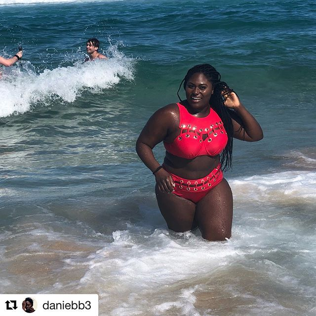 e88f419c3a6 Danielle Brooks looking red hot in our Gabifresh Volcano Underwire Bikini.  #gabifreshxswimsuitsforall #repost