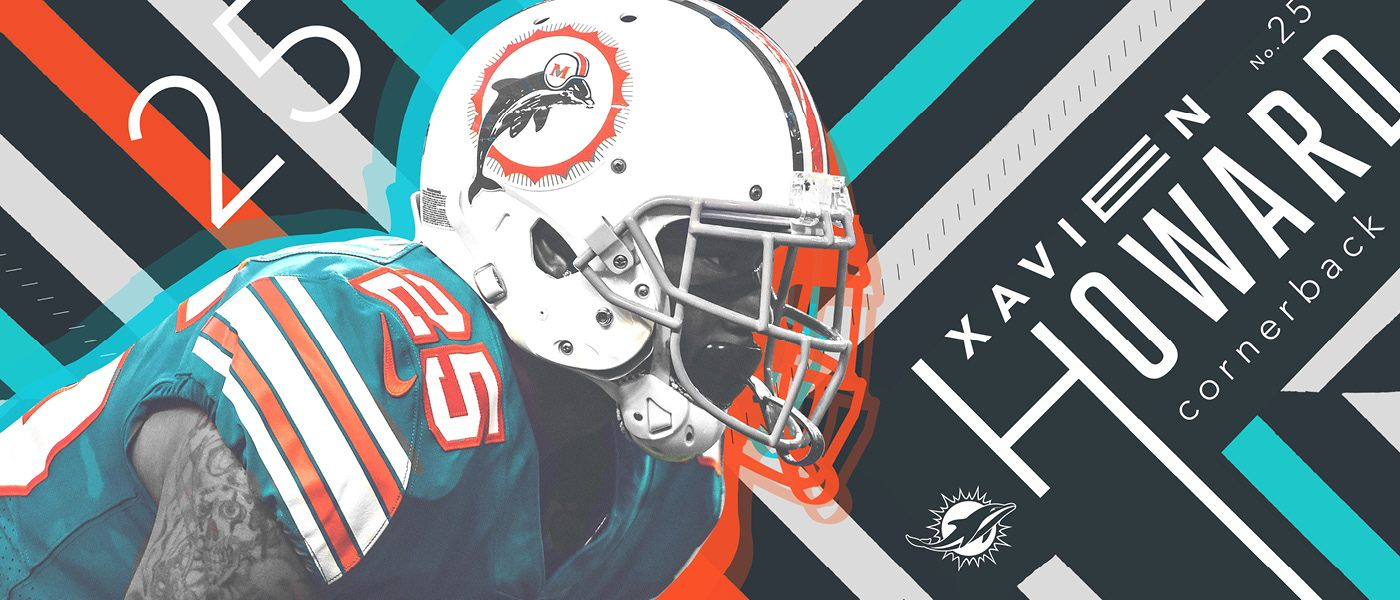 2018 Miami Dolphins on Behance Miami dolphins, Dolphins