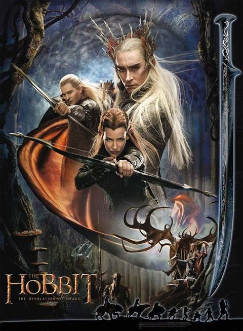 Pin De Leopoldo Quintero En Películas Movies La Desolación De Smaug Hobbit Thranduil
