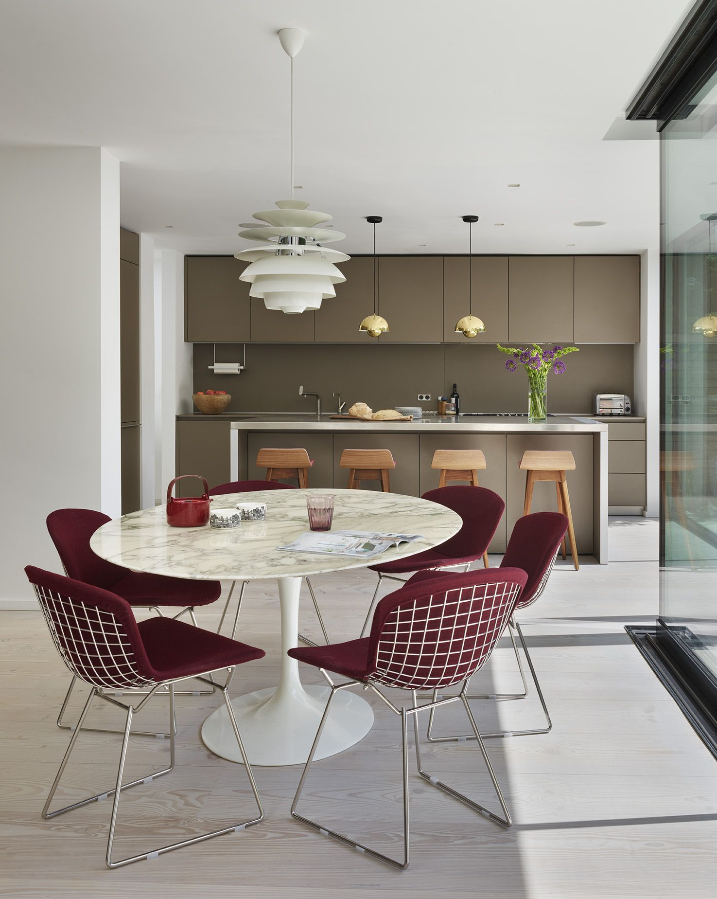 kitchen architecture b3 furniture in clay with a stainless steel rh pinterest co uk