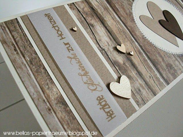 In Holzoptik Hochzeit Pinterest Cardmaking Paper Cards Und Cards