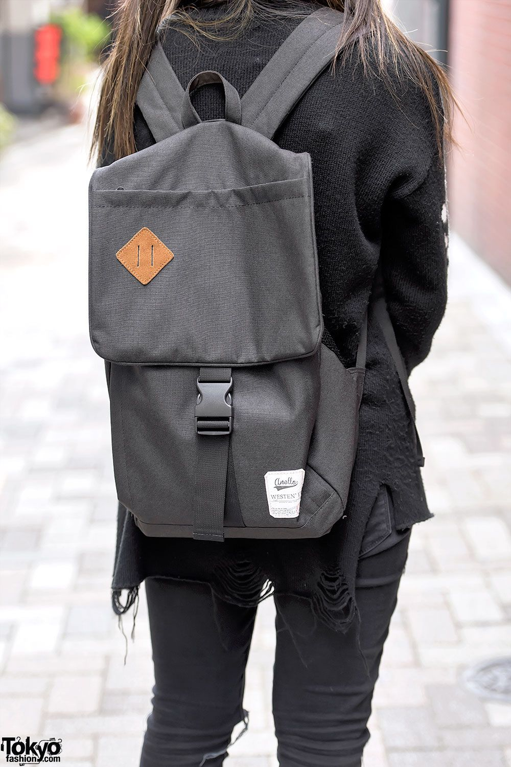 Anello Backpack In Harajuku Fashion Style 2018 Pinterest Dr Kevin Men Sneaker 13314 Black Bags Beauty Outfit World Street
