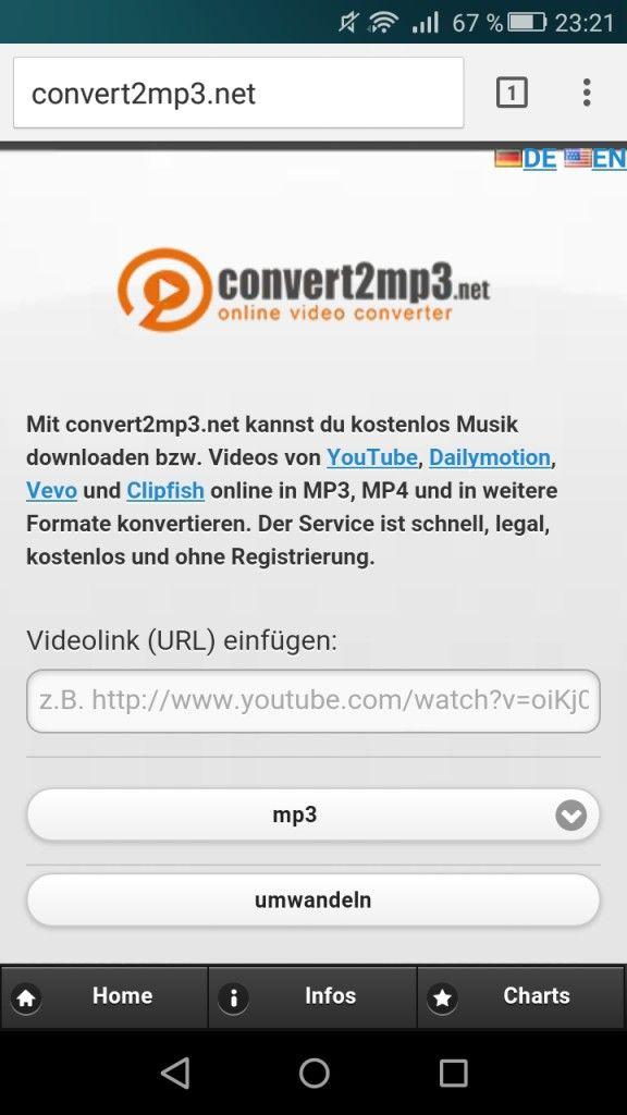 Lieder Von Youtube Aufs Handy Laden