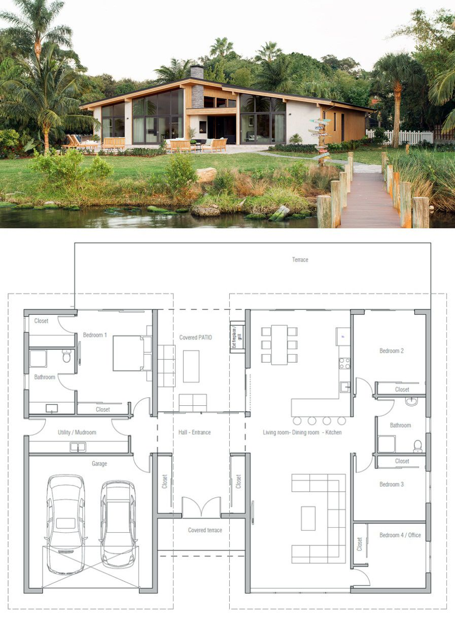 house plan house plans pinterest house architecture and mid