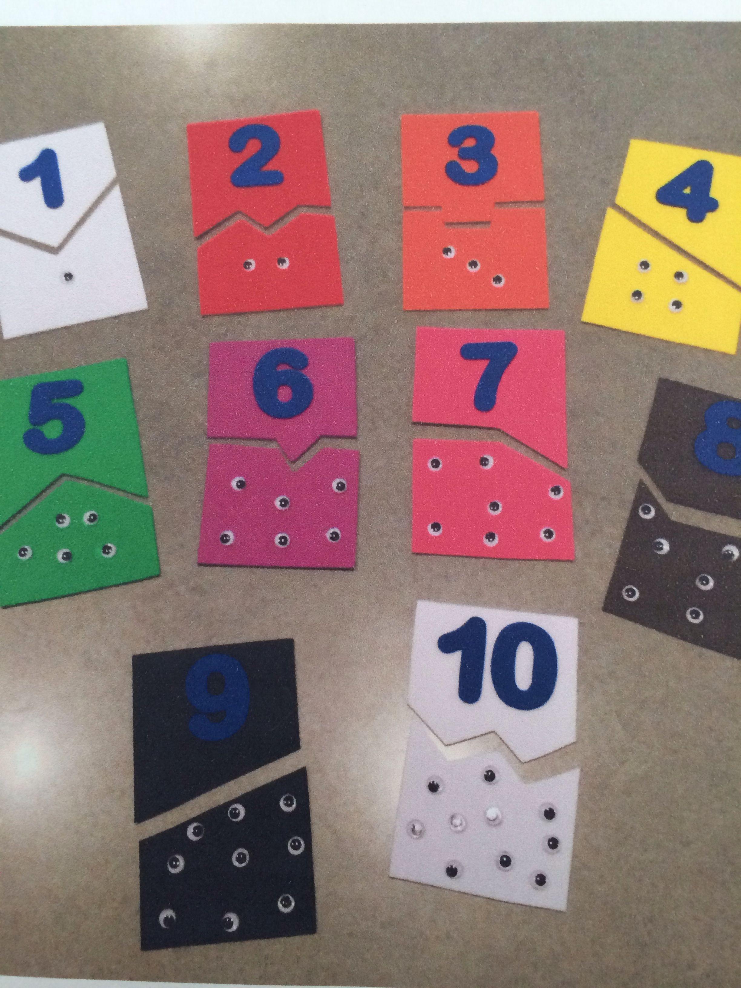 Foam Numbers 1 10 Montessori Self Correcting Puzzle
