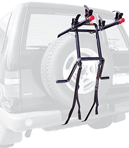 Cheap Allen Sports Deluxe 2 Bike Spare Tire Mounted Rack Best