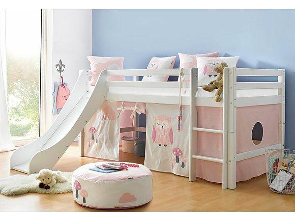 Pin Von Caro Boke Auf Zimmer Hanni Halbhohes Kinderbett Bett