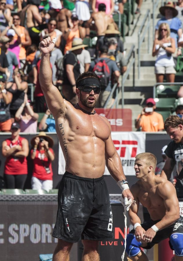 Rich Froning became the first person to win the title of