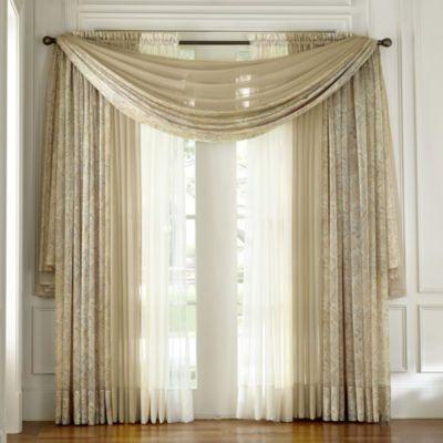 Jcpenney Royal Velvet 174 Harmon Sheer Window Treatments