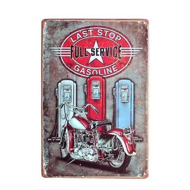 Metal Tin Sign car plate  Decor Bar Pub Home Vintage Retro Poster Cafe ART
