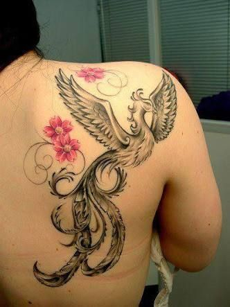 Tatuagens Fenix Feminina Pesquisa Google My Style Tatto