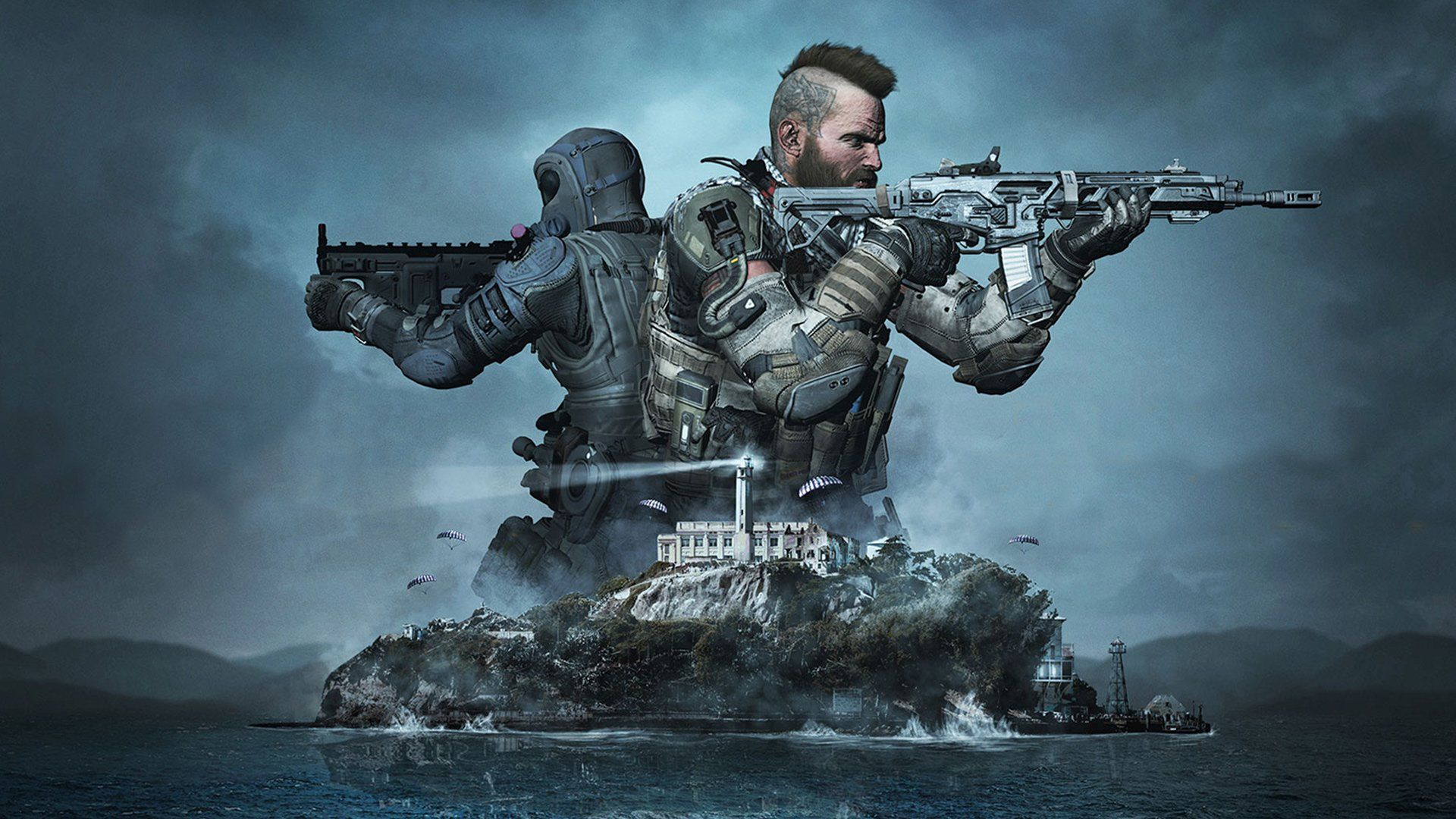 Call Of Duty Blackout 23 Kill Win On New Alcatraz Map Steven Bobby Alexio And Andres Try Out The New Alcatraz Ma Call Of Duty Black Call Of Duty 4k Background
