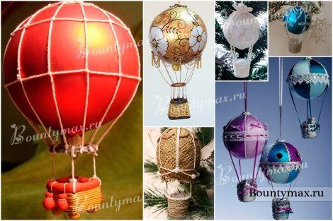 Как сделать воздушный шар из шариков