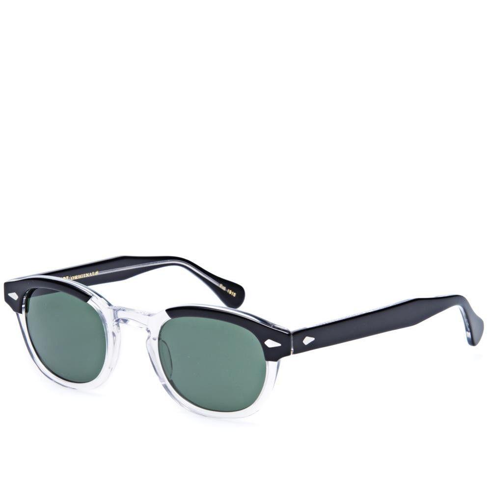 f007012b99 Moscot Lemtosh Sunglasses (Black Crystal   G15 Lenses)