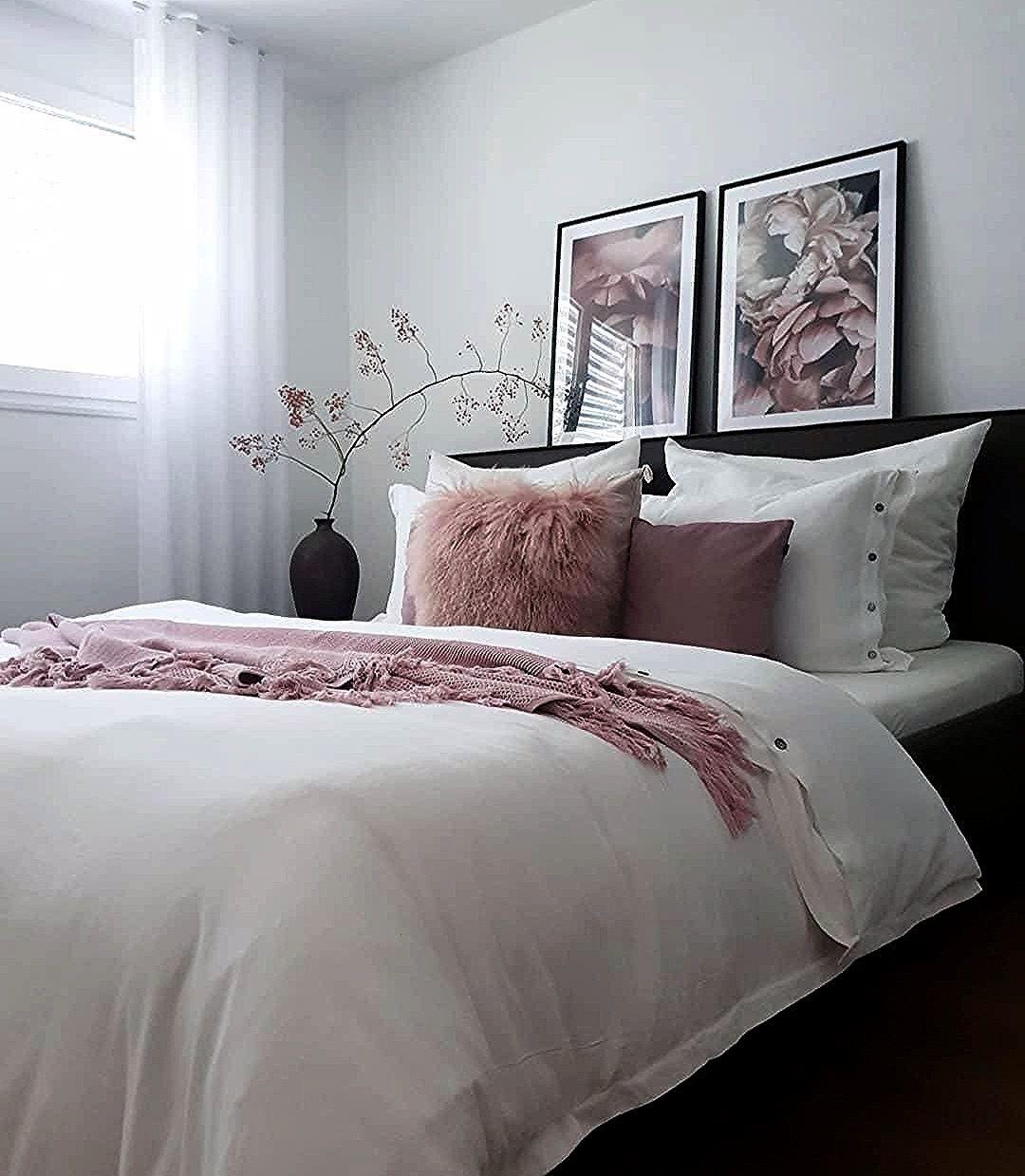 Schlafzimmerideen Schaffellkissen Wunderschonen Skandinavisch